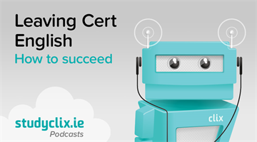Thumbnail of Podcast: How To Succeed In Leaving Cert English