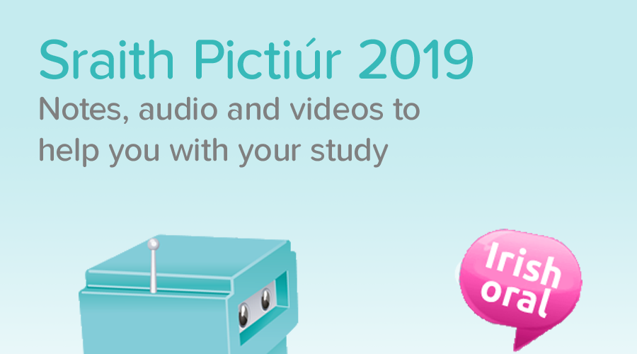 Banner of Leaving Cert Sraith Pictiúr 2019 - Notes, Videos and Audios