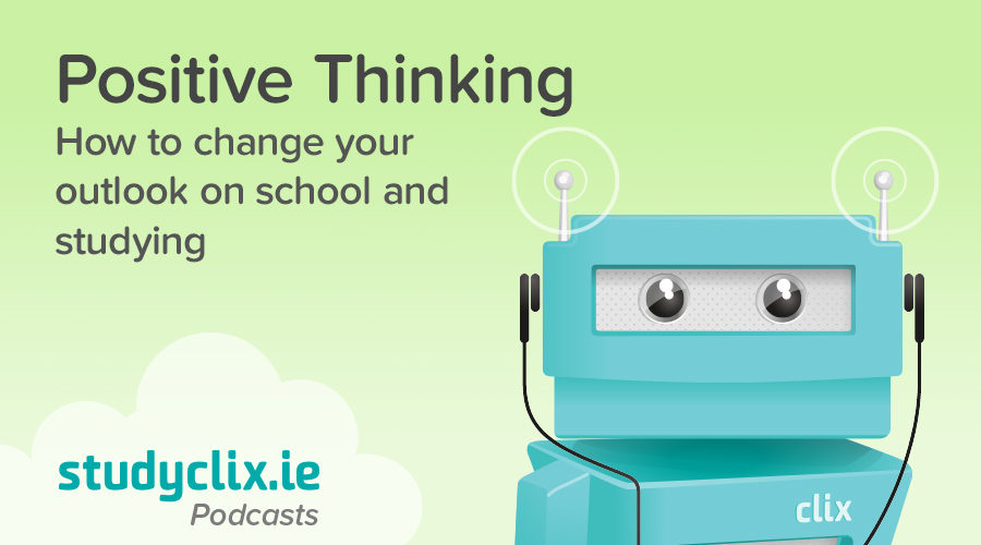 Banner of Podcast: How To Have A Positive Attitude Towards Studying