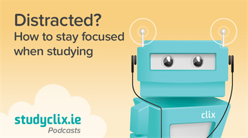 Thumbnail of Podcast: How To Avoid Distractions When You're Studying
