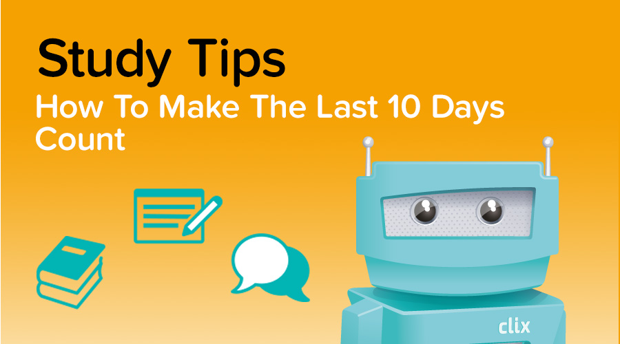 Banner of 10 Study Tips For The Last 10 days