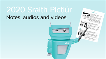 Thumbnail of Sraith Pictiúr 2020 - Notes, Videos and Audios Now Available