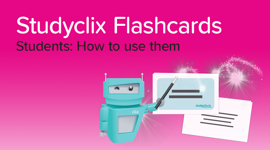 Banner of Introducing: Studyclix Flashcards