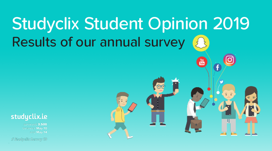 Banner of Studyclix Student Opinion Survey 2019: Results