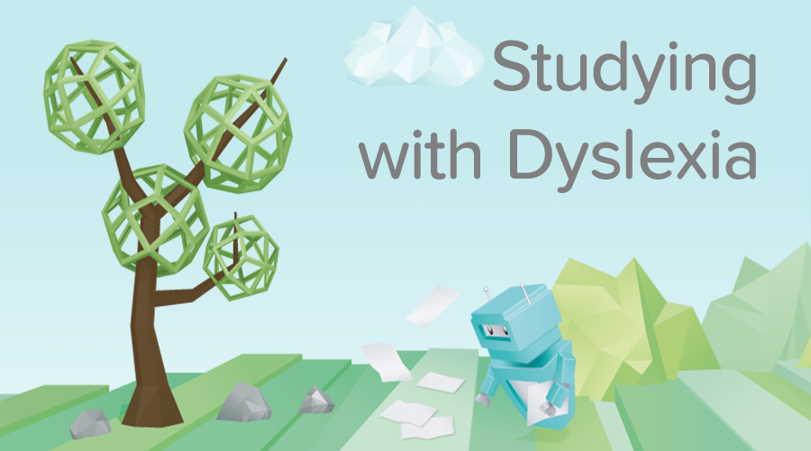 Banner of Dyslexia - Study Tips for Dyslexic Students