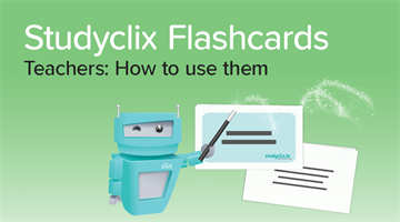 Thumbnail of Introducing: Studyclix Flashcards for Teachers