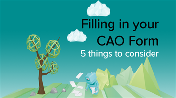 Thumbnail of 5 things You Should Know Before You Fill In Your CAO Form